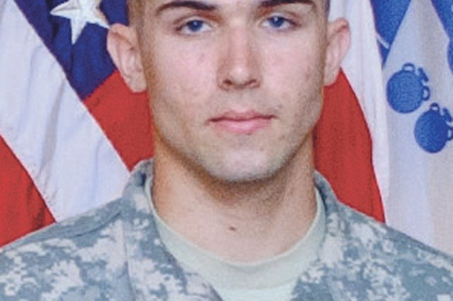 Spc. Blaise Corbin is the Soldier of the Year.