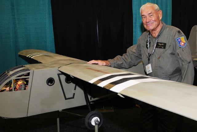 One-way ticket: 'Pandemonium' -- WWII glider pilot recalls operations in Germany
