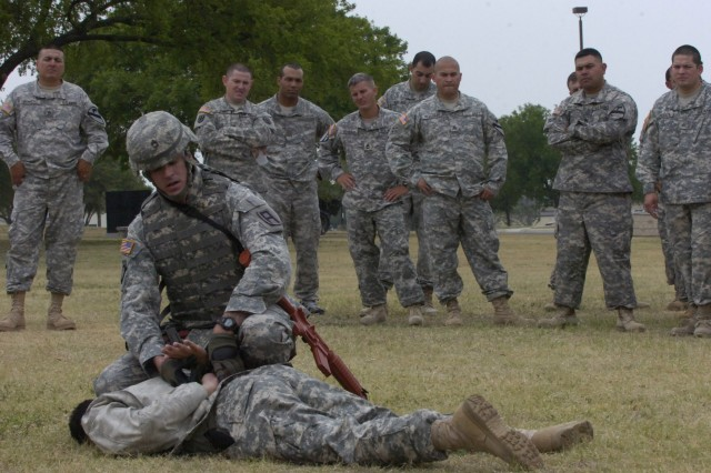 1st Cavalry Division NCOs train to win