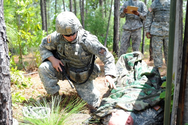 IMCOM troops compete at Bragg for title of 'Best Warrior'