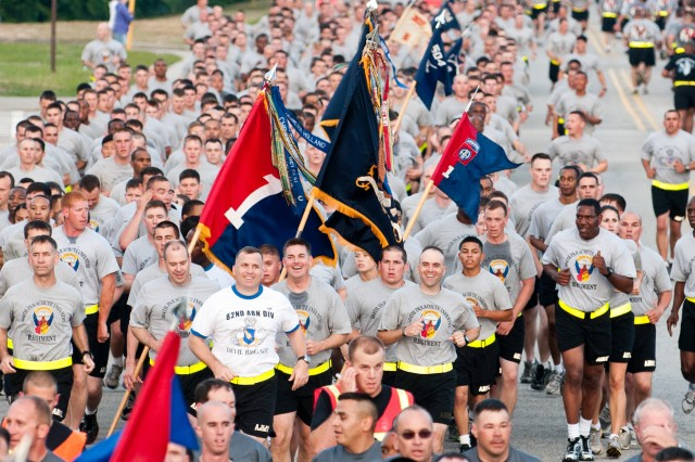 82nd Airborne Division Run Kicks Off 2011 All American Week