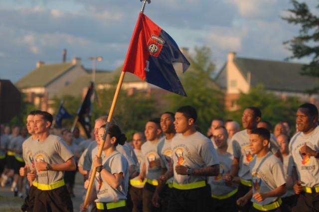 82nd Airborne Division Run Kicks Off 2011 All American Week