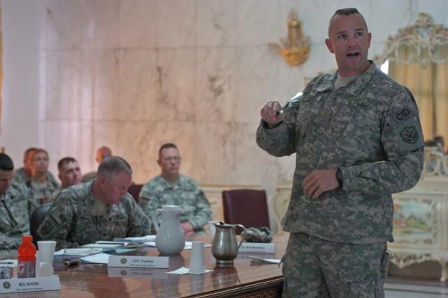 Law enforcement professionals discuss mission focus