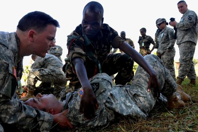 Combat Life-saver training in Malawi