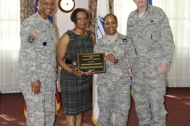 Congratulations to the 10th Transportation Battalion, (Waterborne!), 7th Sustainment Brigade for receiving this year's Commander's Gold for Community Service Award during the Joint Base Langley-Eustis Army Community Service Volunteer