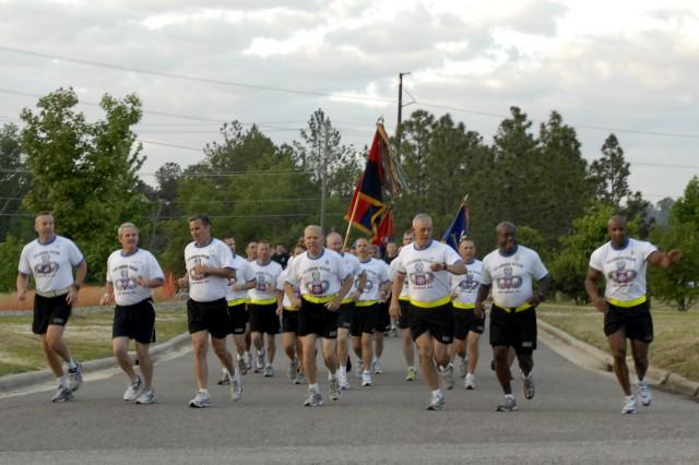 82nd Airborne Division Run 2011
