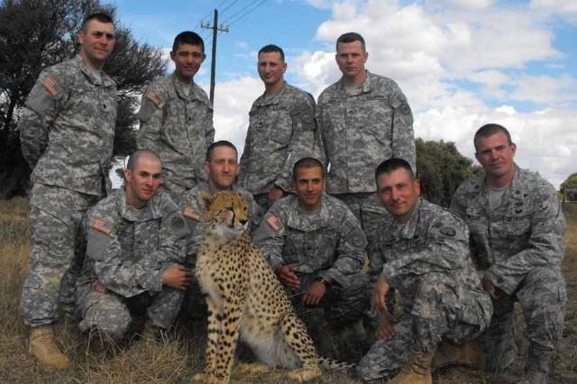 New York National Guard Soldiers in South Africa