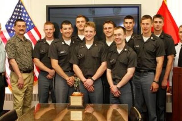 Winning cadet team