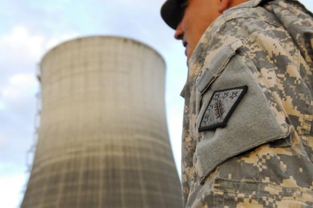 31st Chemical soldiers train at Satsop