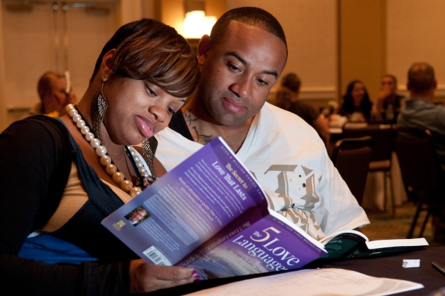 Couples learn love languages at Strong Bonds retreat