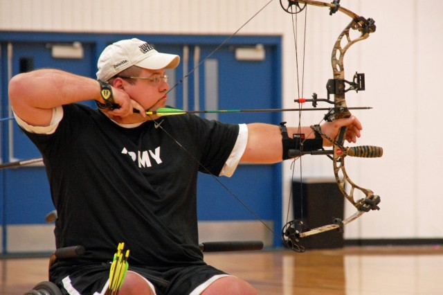 Archery compound-bow silver medalist