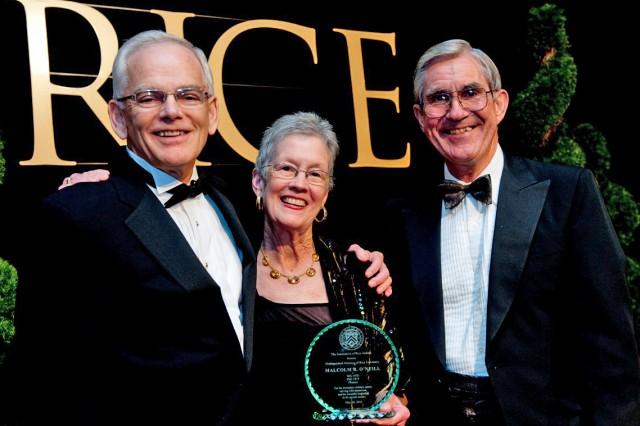 O'Neill receives Rice University award