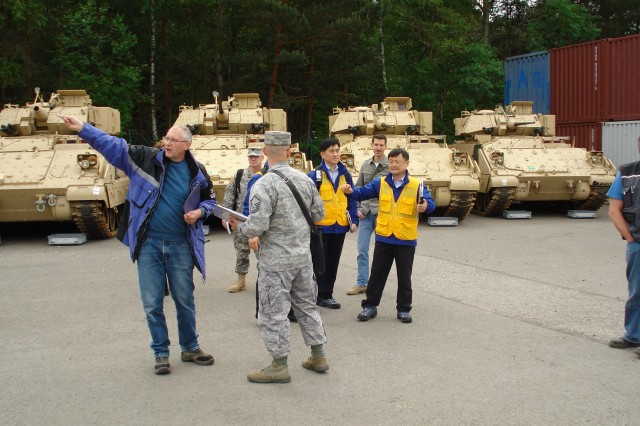 21st TSC hosts Korean Arms Verification Agency