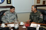 U.S. Army South hosts Peruvian Army Commander