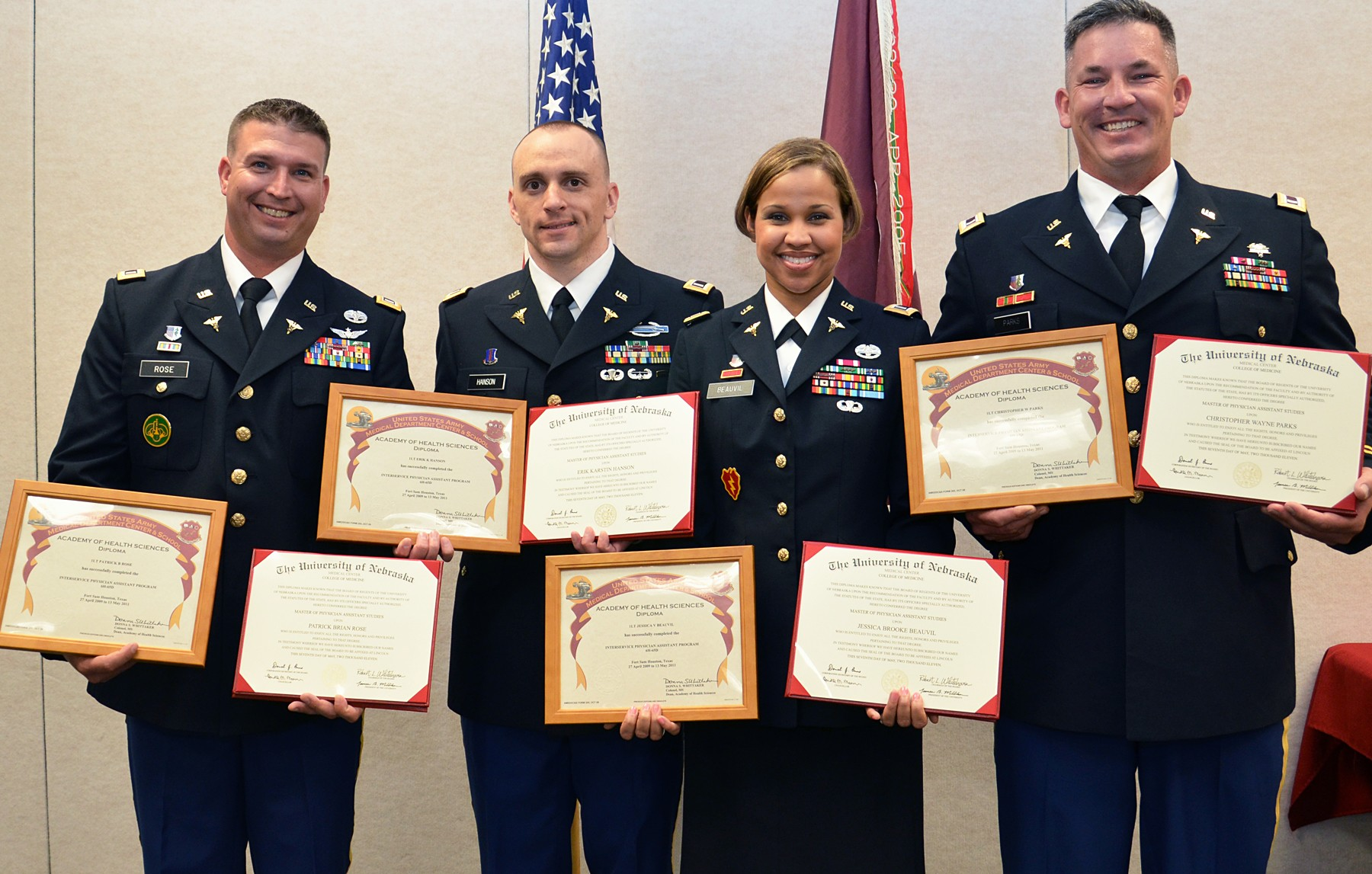 Army Pa Program >> Darnall Graduates Four Physician Assistants The Number One Growing