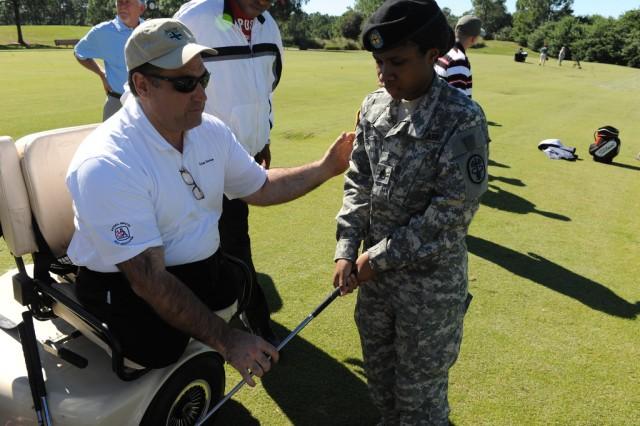 Wounded Warrior golf clinics offer rehab alternative