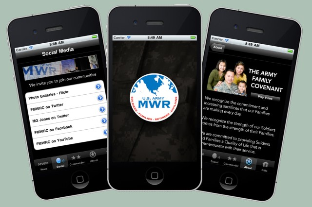 Mobile MWR hits the app store