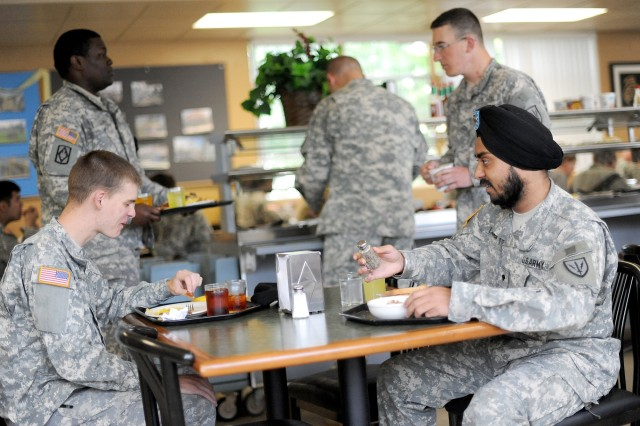 Lamba graduated from Basic Combat Training at Fort Jackson, S.C., November 2010. Now the Soldier, who speaks Hindi and Punjabi and has a master's degree in industrial engineering, plans to become an officer.