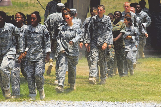 More than 300 cadets from high school JROTC programs in Georgia participated in weeklong leadership camps at Fort Benning. The students learned to conduct missions and lead squads.