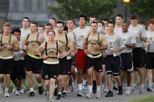 Leading more than 1,000 rising high school seniors through the Summer Leaders Seminar is a dedicated cadre of cadets, responsible for mentoring and guiding the candidates through a week-long West Point experience.
