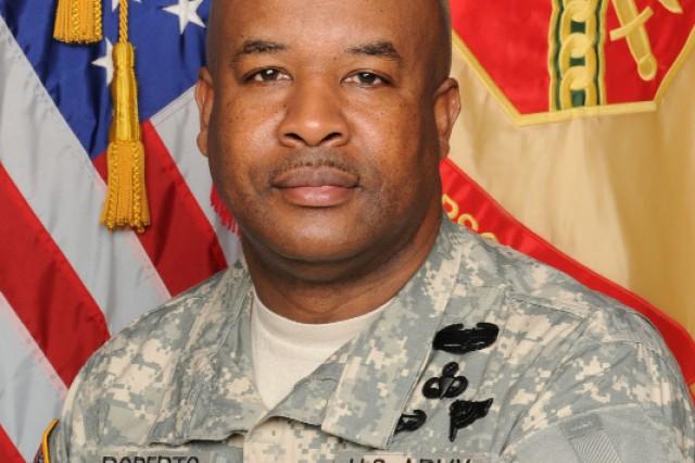 Command Sgt. Maj.  Karl Roberts    Garrison Command Sergeant Major  Fort McPherson and Fort Gillem