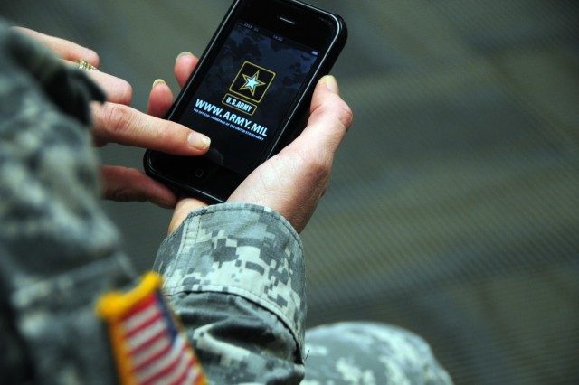 """The Army is finding the use of smart-phone devices such as an Android or iPhone leads to an increase in """"SPOT"""" reports, wherein Soldiers share tactically relevant information across the force in real-time, service officials said."""