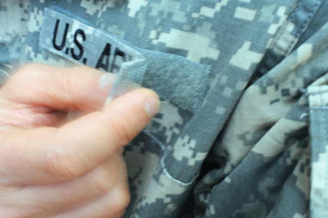 Recently announced changes to the Army Combat Uniform involve allowing Soldiers to sew on certain items to their uniform in lieu of using the provided Velcro.
