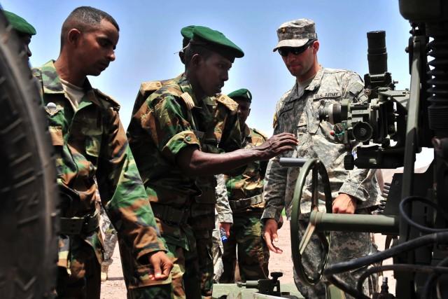Cadets, midshipmen visit Horn of Africa