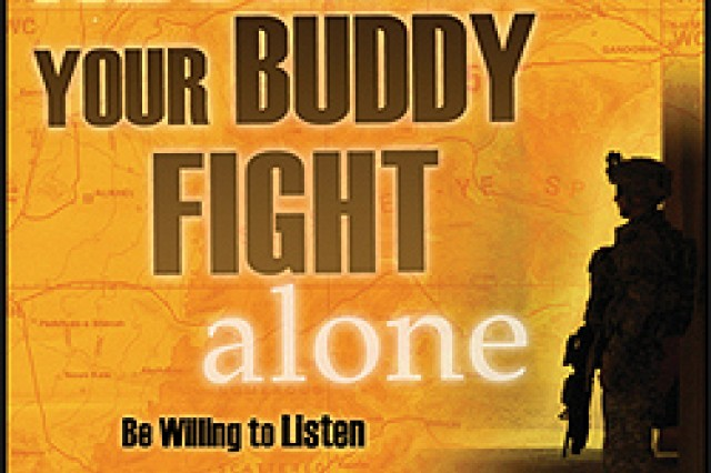 Image from the U.S. Army Medical Department's Army Behavioral Health Suicide Prevention website.