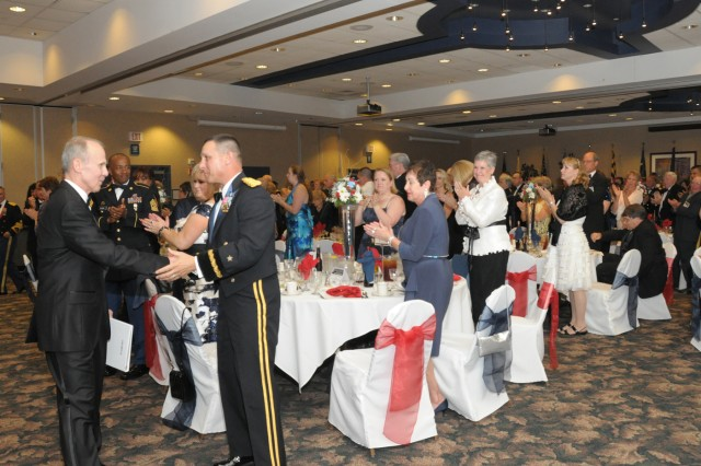 One June 10 Fort Drum Soldiers and civilians held the post's first-ever Army Birthday Ball to celebrate the U.S. Army's 236th birthday.