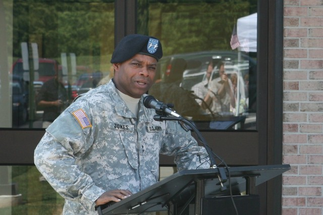 Major General Reuben D. Jones, Deputy Commanding General-Operations, Installation Management Command shares about the leadership qualities of Staff Sergeant Tieman. He would never let anyone do anything that he wasn't willing to do....that's a Soldier...thats a hero.