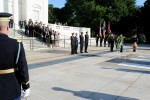 2011 Army Birthday wreath laying at Tomb of the Unknowns