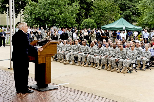 Gates speaks at Pentagon on Army's 236th Birthday