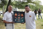 Wounded Warrior BBQ at Fort Detrick