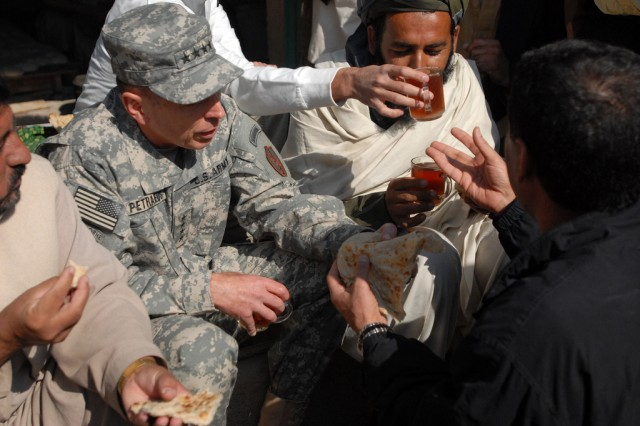 Gen. David Petraeus in Afghanistan