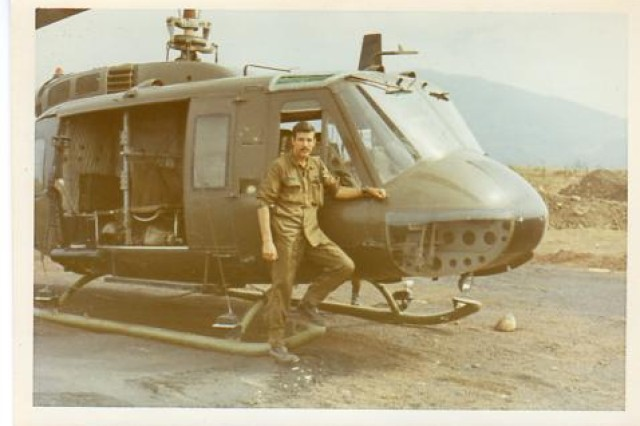 Then Chief Warrant Officer 2 Steven Derry in Vietnam in 1971. Chief Warrant Officer Steven Derry, the last Vietnam War era pilot still flying in the New York Army National Guard made his final flight on Tuesday, June 14.
