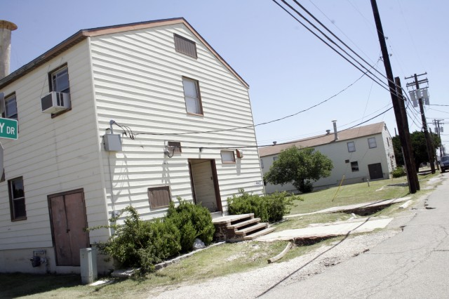 The majority of Fort Hood's WWII-era wooden structures are in the 4000 block area of the installation.