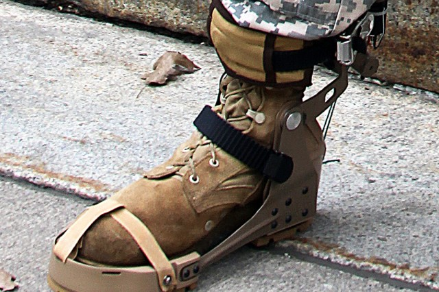 The energy harvester is designed as a boot attachment to convert negative energy into electrical power using a mechanical device. When walking, negative energy in the ankle is created during a normal human gait from heel strike to midstance. That energy can be harvested and used to power batteries in the field. This will lighten Soldiers' loads by not having to carry batteries.
