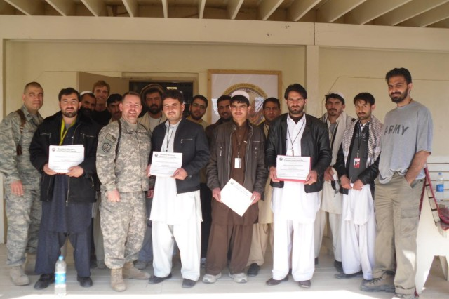 Contracting Center helps build a better Afghanistan