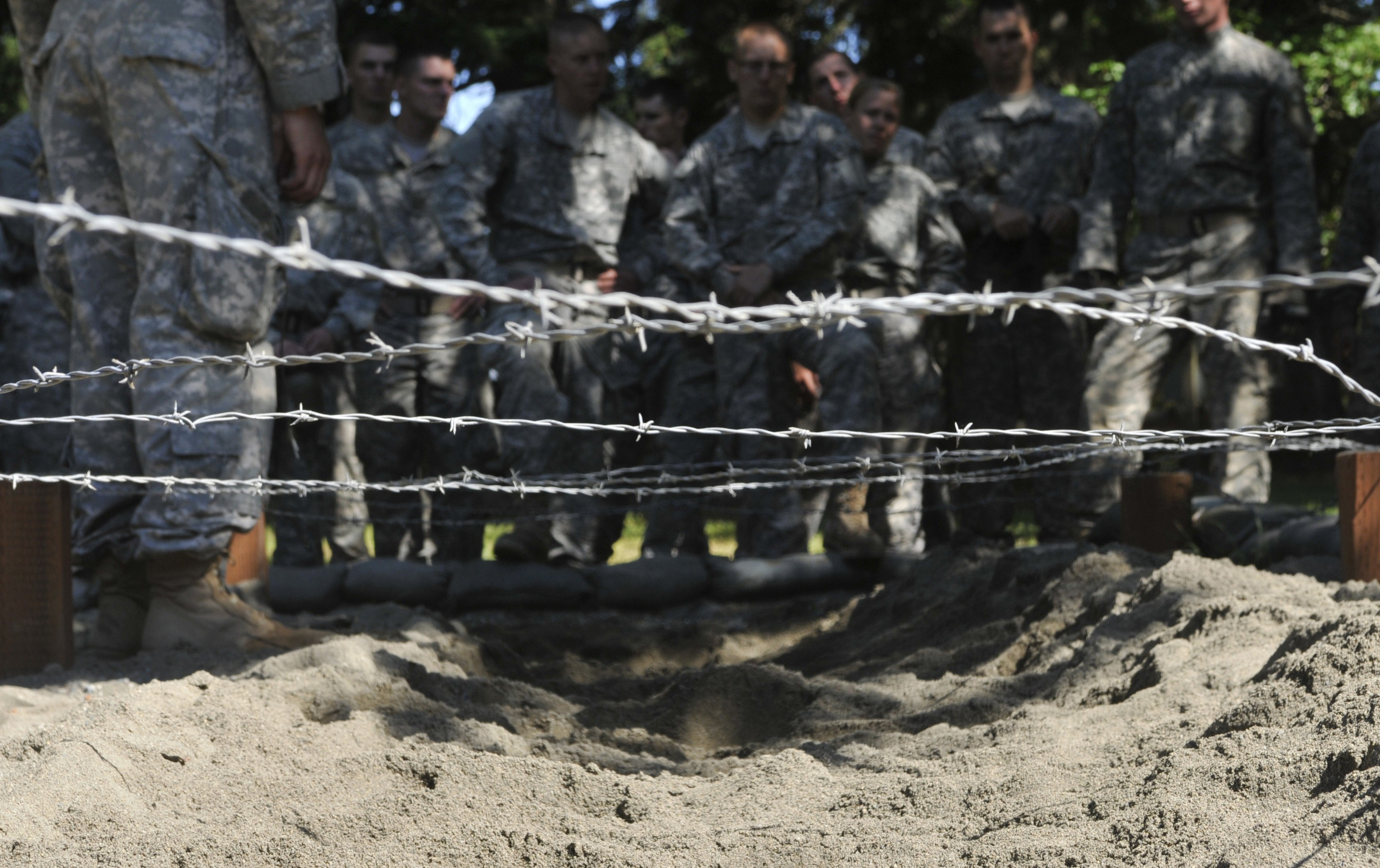 Army Cadets overcome fear at obstacle course | Article | The United ...