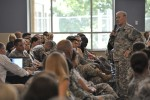 CSA thanks Fort Campbell Soldiers, families for dedicated service to nation