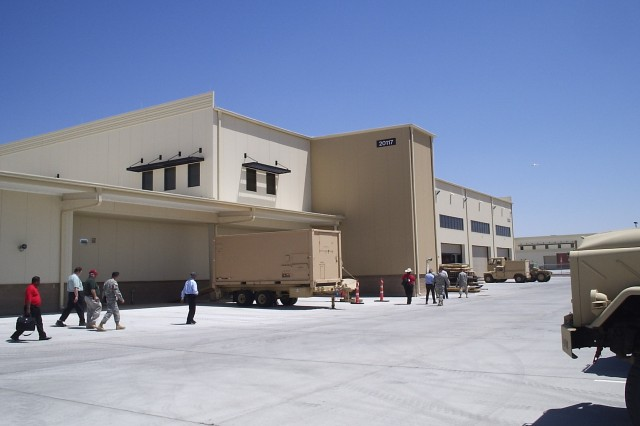 A new tactical equipment maintenance facility, like this one at Fort Bliss, Texas, is in the works for Army Field Support Battalion - Bliss.