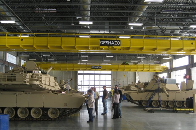 A tactical equipment maintenance facility, like this one pictured at Fort Carson, Colo., is in the works for Army Field Support Battalion - Bliss, located at Fort Bliss, Texas.