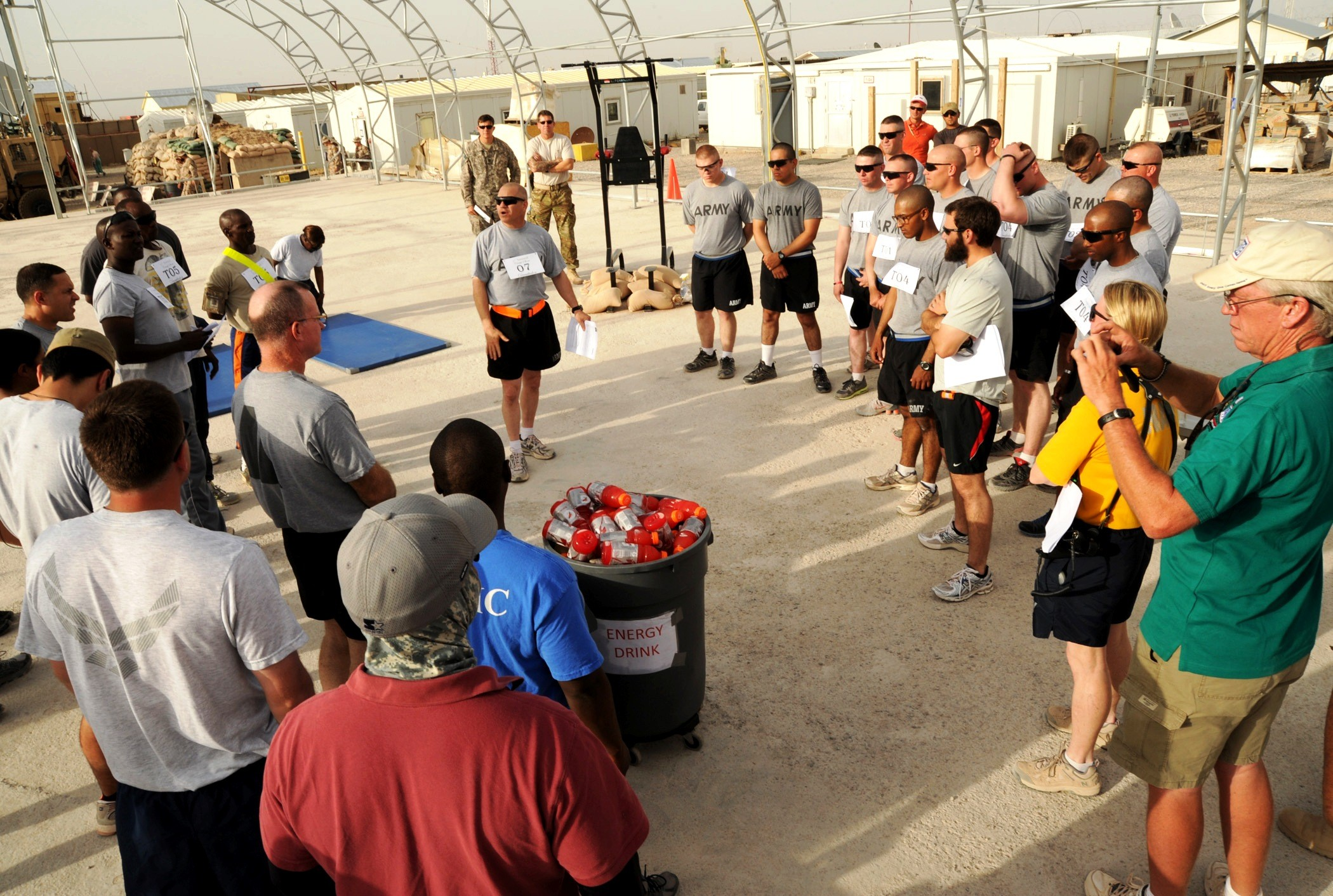 Afghanistan 39 s camp stone conducts first decathlon for Camp stone
