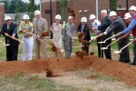 Groundbreaking at Belvoir