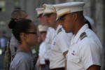 Meeting the Corps of Cadets