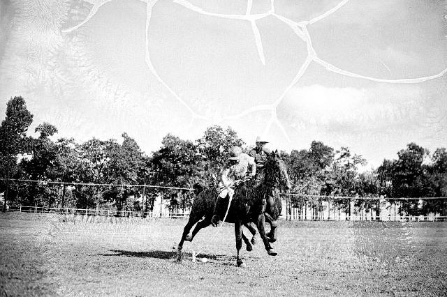 Polo has always been played on Hedekin Field on Fort McPherson, as shown by this undated negative (above), and a photo of the 2010 Horses for Heroes match (below).