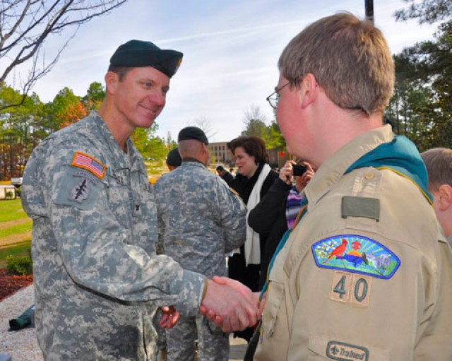 Scout's honor: Eagle Scouts' projects reflect American spirit