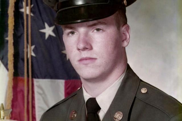 Kenneth O. Preston during basic training in 1975.