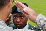 Army cadets train
